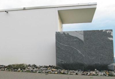 Tettoia sopra la parete posteriore 1,50 m